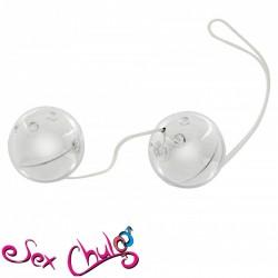 Palline vaginali Silver Metal Balls