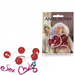 PLUG ANALE CLEAR ANAL BEADS LARGE