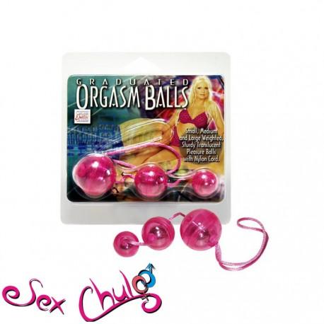 Graduated Orgasm Balls