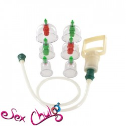 POMPA A COPPETTE CUPPING VACUUM CUPSET