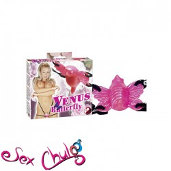 Vibro-Strap-on Venus Butterfly