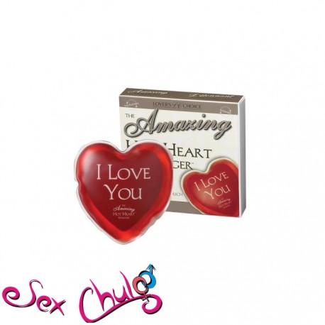 MASSAGGIATORE The Amazing Hot Heart Massager - I Love You