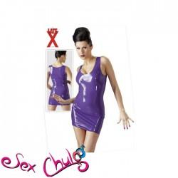 Latex Mini Dress