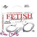 Manette FF OFFICIAL HANDCUFFS METAL Fetish Fantasy