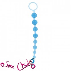 PLUG ANALE THAI TOY BEADS BLUE
