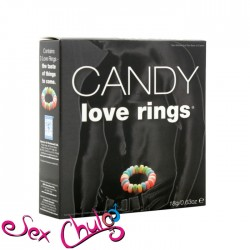 Anello per pene caramellato CANDY LOVE RINGS''