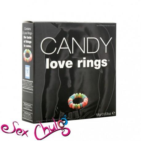 Anello per pene caramellato CANDY LOVE RINGS''