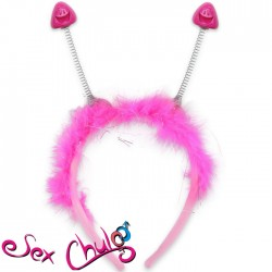 Cerchietto con antennine BP PECKER HEAD BOPPERS''