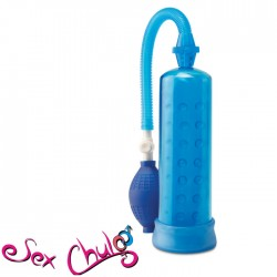 Pompa allunga pene Pw Silicone Power Pump Blue