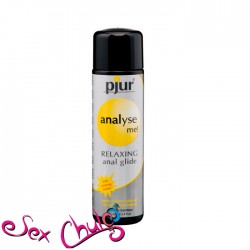LUBRIFICANTE ANALE A BASE SILICONE PJUR ANALISE ME GLIDE 100 ML