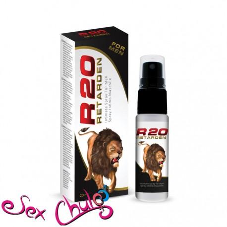 Spray Ritardante Eccitante R20 Retarden (20 ml) Economico