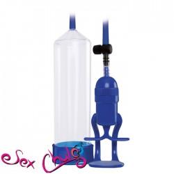 Pompa per pene RENEGADE PUMP BOLERO BLUE