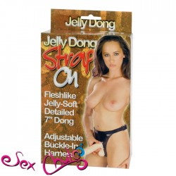 FALLO STRAP-ON JELLY DONG STRAP-ON